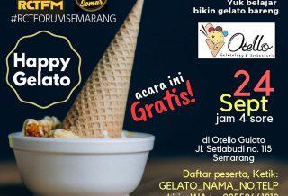 Forum Semarang #11 : Happy Gelato