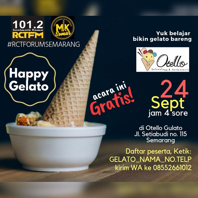 Forum Semarang #11 : Happy Gelato