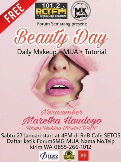 Forum Semarang : Beauty Day - Daily Makeup - MUA - Tutorial