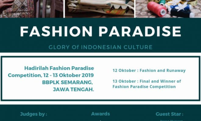 Fashion Paradise - Glory of Indonesian Culture