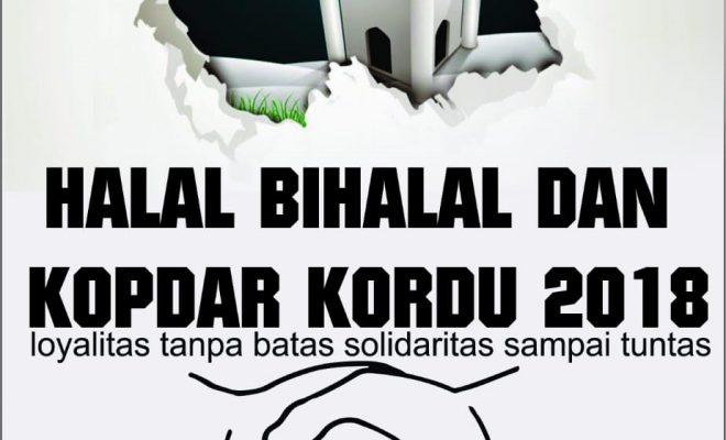 Halal Bihalal & Kopdar Kordu