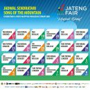 Jadwal Panggung Sendratari Song of The Mountain Jateng Fair 2018