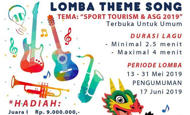 Lomba Theme Song Asean School Games 2019