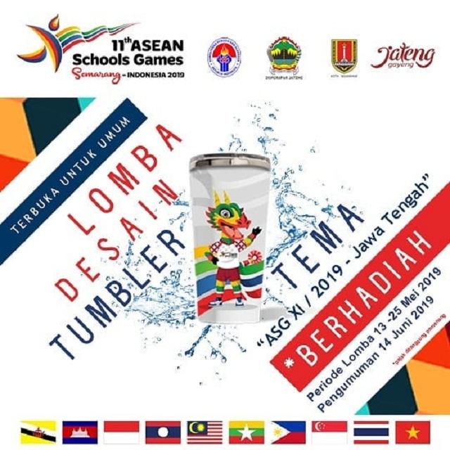 Lomba Desain Tumbler Asean School Games 2019