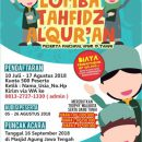 Semarang Menghafal Lomba Tahfidz Al Quran
