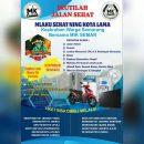 Jalan Sehat Bersama MIK SEMAR - HUT 1 Tahun MIK Semarang Utara