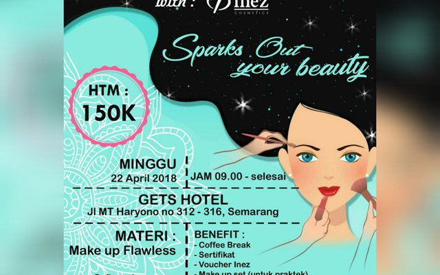 RCTFM Beauty Class & Workshop with INEZ Cosmetic