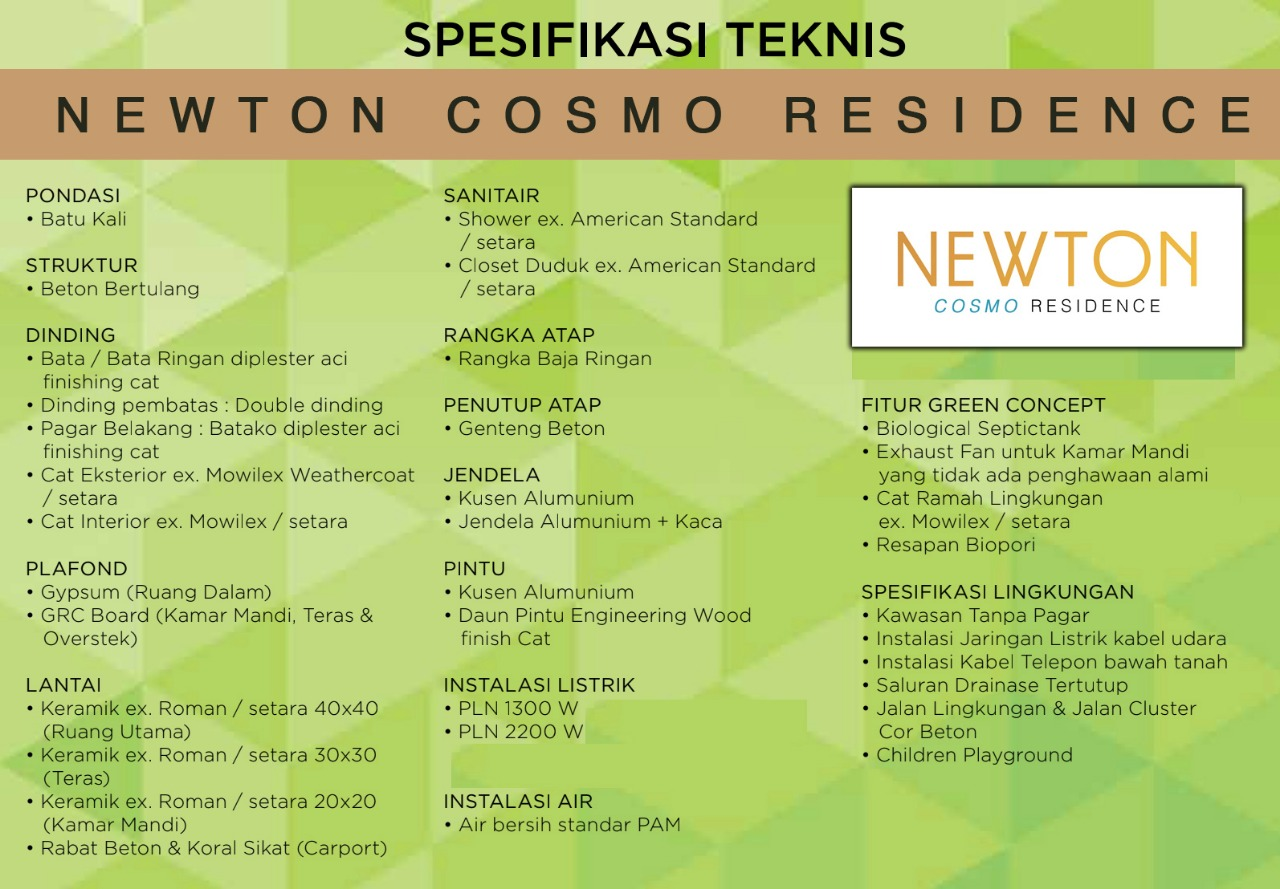 Newton Cosmo Residence