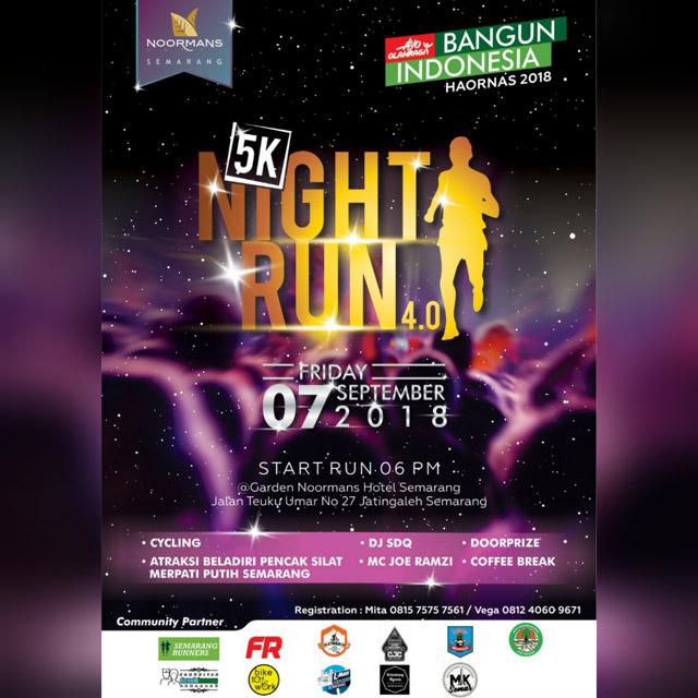 Night Run 5K Noormans Hotel - Semarang