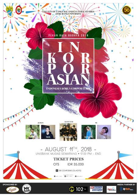 "Pekan Raya Budaya 2018 ""INKORPORASIAN - FPIB Unisbank"