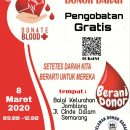 Pengobatan Gratis RDD & Korwil Semarang Tengah MIK SEMAR