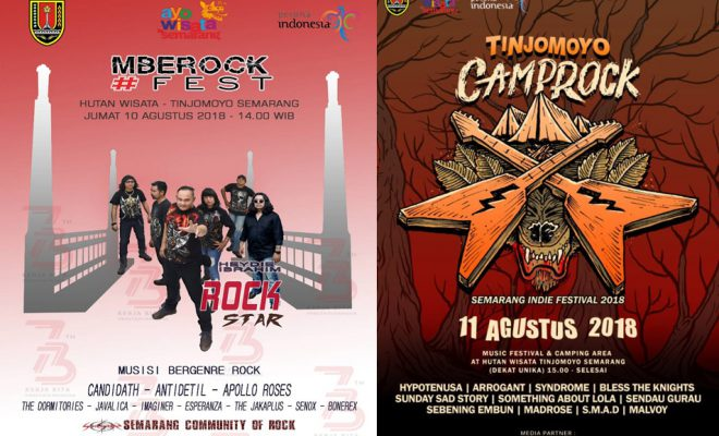 Mberok Fest & Semarang Indie Festival 2018
