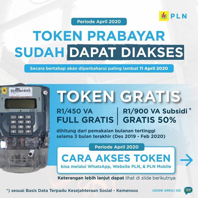 Token Prabayar Gratis & Diskon Pembayaran PLN
