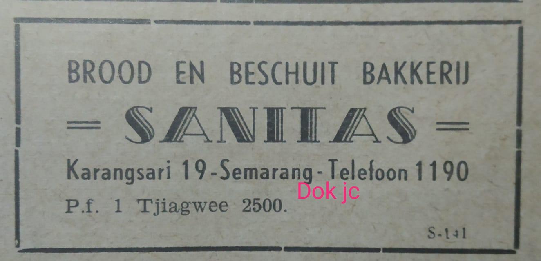 Toko Roti Tertua Sanitas Semarang