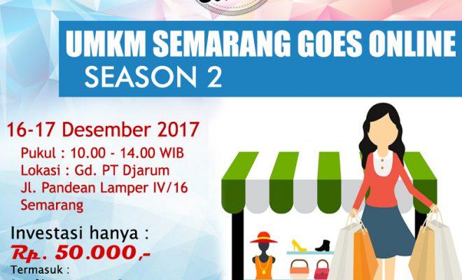 UMKM Semarang Goes Online Season 2 - MIK Semar